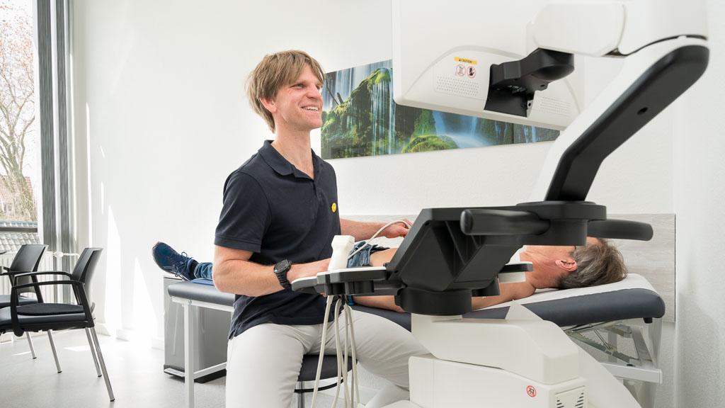 Sonografische Untersuchung beim Hausarzt