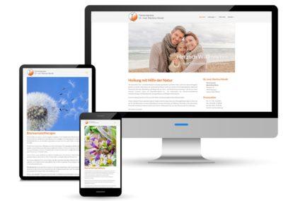 Internetpräsenz für Facharztpraxis