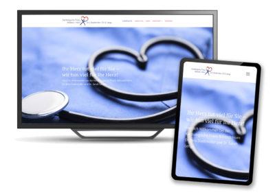 Webdesign für die Kardiologie