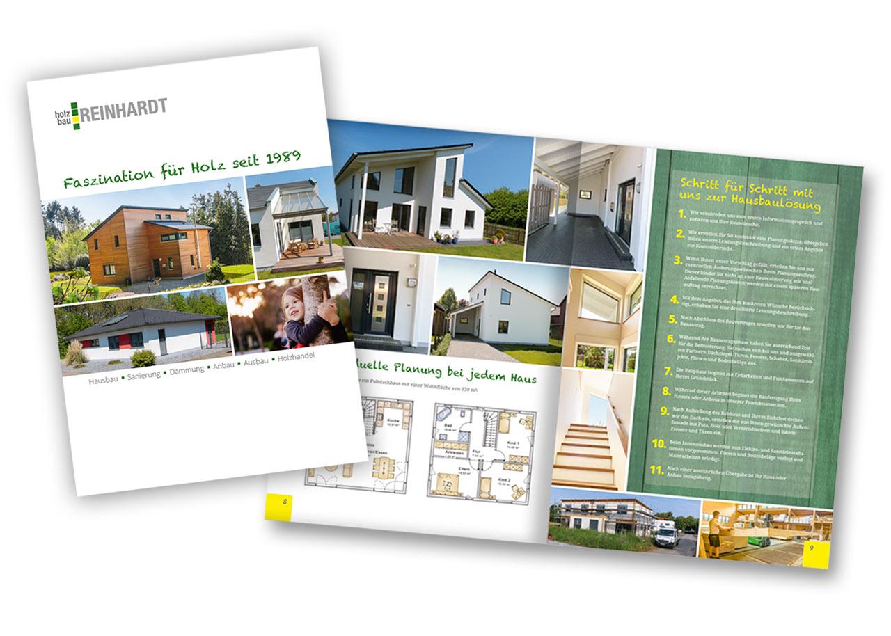 12-seitige Broschüre für das Handwerk